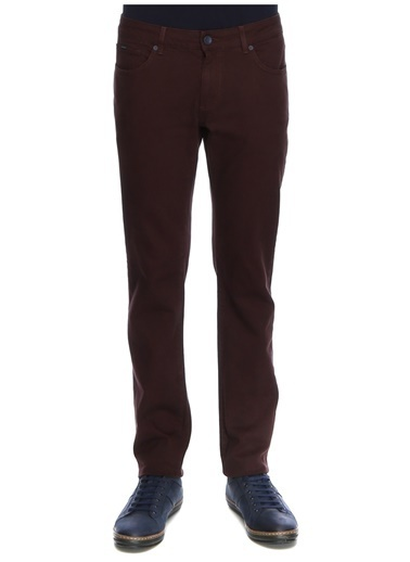 George Hogg George Hogg Klasik Pantolon Bordo